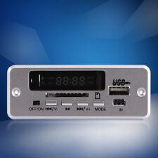 DC 12V Car MP3 Decoder Board Audio Module USB SD TF FM Radio with Remote Control