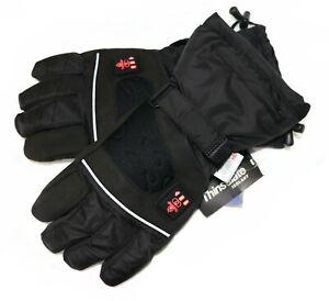 Thermrup Beheizbare Handschuhe mit 4 Stufen Temperaturregler Akkubetrieb