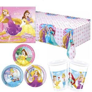 Disney PRINCESS HEART STRONG Birthday Party Range Tableware Balloons Decorations