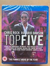 Chris Rock Rosario Dawson Top Five 2014 Comedia Gb Blu-Ray Nuevo en Caja