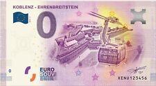 Billet Touristique 0 Euro --- Koblenz Ehrenbreitstein 2018-2
