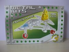 New Metal Kits Kandy Toys Construction Kit 96 Pieces Fighter Plane Bnib
