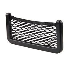 1x Car Auto Elastic String Mesh Bag Storage Net Pocket Cage Black Universal