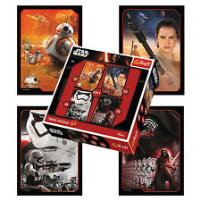 Trefl 4 In 1 35 + 48 + 54 + 70 Piece Boys Star Wars Episode VII Jigsaw Puzzle