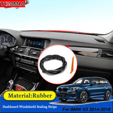 Dust Proof Anti- Noise Car Dashboard Windshield Sealing Strips For BMW X3 2014+
