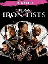 The Man With the Iron Fists (DVD, 2013, Unrated) DVD ONLY NO BOX ART