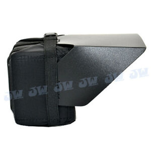 JJC 3.5 LCD Hood for Camcorders DSLR Camera DV Replace Petrol PA1009 Mini Hood