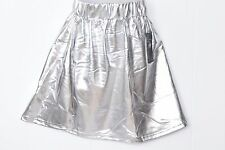 Girls  Kids Metallic Dance Skirt Halloween Fancy Ballet  Dress party 5 to 13
