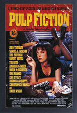 PULP FICTION ONE SHEET 13x19 FRAMED GELCOAT POSTER UMA THURMAN JOHN TRAVOLTA NEW