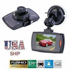 "1080P 2.3"" LCD Car Camera Full HD Dash Cam Crash DVR G-sensor Night Vision HDMI~"