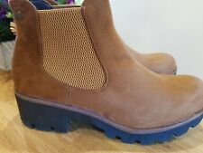 Rieker Chelsea Ankle Boot in Brown size 6 new boxed model 99284-24