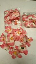 Artificial Flowers Pink and White
