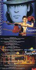 """Udo Lindenberg: Benjamin Con """"Fäuste de acero""""! 10 Songs! 1993! Nuevo CD! 1801"""