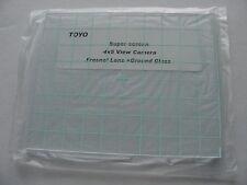New Toyo 4x5 Camera Fresnel Lens + Ground Glass-Best quality