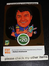 2015 NRL POWER PLAY POWER CARD PC24 NATHAN HINDMARSH STAY WELL