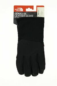 The North Face 166583 Mens Denali Se Winter Leather Gloves Black Size Small