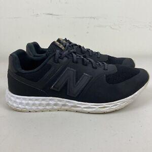 New Balance 574 Mens Running Shoes US 10 Black VGC + Free Postage