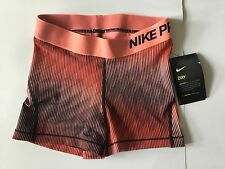 Ladies NIKE PRO DRY SERIES Competition Base Layer Shorts Size XS