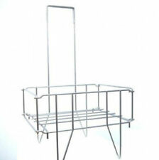 "Shopping Basket Stand | Holds 16""W x 12""D x 7'H Baskets"