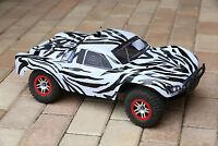 Custom Body Zebra Style for Traxxas Slash 1/10  4x4 VXL 2WD Slayer Shell Cover