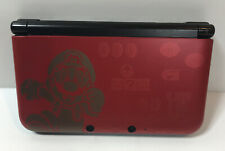 Nintendo 3DS XL New Super Mario Bros 2 Gold Limited Edition + Charger + SD Card!