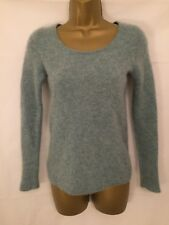 Pure Collection Size 8/10 NWOT Soft 100% Cashmere Jumper in Blue 4139