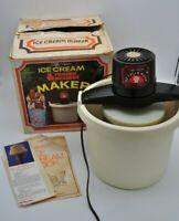 Vintage Dolly Madison Frozen Dessert Pacer 4 Quart Ice Cream Maker Sorbet