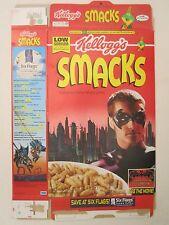 Kelloggs Cereal Box 1996 SMACKS 17.6 oz Batman & Robin