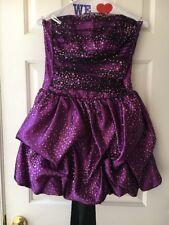 Jessica Mcclintock Short Purple Party Dress Size 5