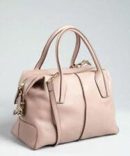 NEW Tod's D-Styling Piccolo Ballerina BAULETTO Medium Handbag Dust Pink Italy FS