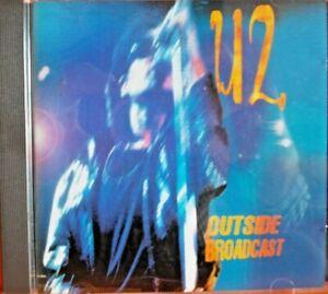 U2 ~OUTSIDE BROADCAST~ZOO RADIO~ZOO TV~NIKKO RECORDS ITALY NK002  DDD~1992*RARE*