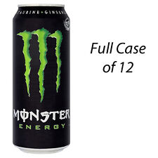 MONSTER ENERGY 500ml 12 x 500ml ENERGY DRINKS WHOLESALE RETAIL STOCK 140875