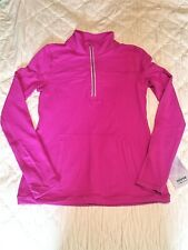Ivivva Another Lap 1/2 Zip Jacket Pink NWT Size 14