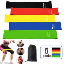 Эспандер петли упражнение резина в тренажерном зале, йоги эластичная лента фитнес-тренировок