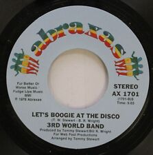 Soul 45 3Rd World Band - Let'S Boogie At The Disco / Disco Hop On Abraxas