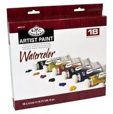 Peintures aquarelles de peinture pinceaux