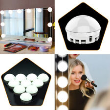 Hollywood Style LED Vanity Makeup Mirror Lights 10 Dimmable Vanity Table Bulbs