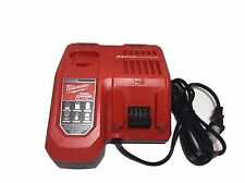 Brand New Milwaukee M18 and M12 Rapid Charger 48-59-1808 Replaces 48-59-1812