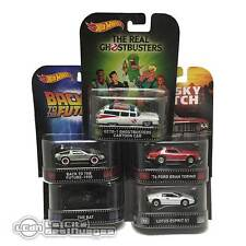 Retro Entertainment Set 5 diecast cars 1/64 Hot Wheels BDT77K Starsky Ecto-1 Bat