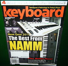 Moog SLIM PHATTY,Korg MICROSTATION,M-Audio VENOM Keyboard Reviews, 2011 Magazine