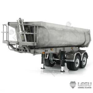 1/14 LESU Metal RC Hydraulic Dumper Trailer Pump for  Tractor Truck DIY TAMIYA