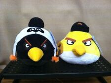 RARE San Francisco Giants Angry Birds Baseball Plush NWT Lot Black Yellow MLB