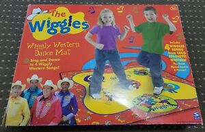 WORKING 2004 The Wiggles Wiggly Western Dance Mat *RARE*