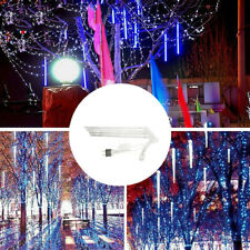 30CM Party LED Lights Shower Rain Snowfalls Christmas Decor Tree Garden Outdoor