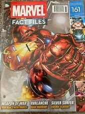 Eaglemoss Marvel Fact Files - Edition #161 - Iron Man Cover