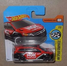 HOT WHEELS HW SPEED GRAPHICS  HONDA ODYSSEY - RED - NGK SPARK PLUGS