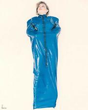 Latex rubber bodybag latex sack gummi unisex BLACK bondagebag zip