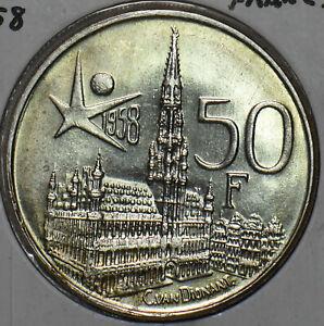 Belgium 1958 50 Francs 296761 combine shipping