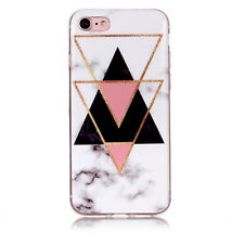 Marble Silicone Thin Soft Slim Fit Phone Skin Case Cover For iPhone 6 7 8 Plus X