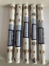 Vintage C&A Wallcoverings 5 Double Rolls 33 X 20.5 Teddy Bear Pattern